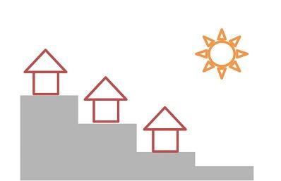 風水・家相でみる運気の良い土地選び:傾斜や周辺環境で分かれる吉凶