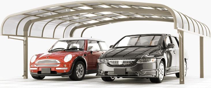 風水・家相でみる駐車場選び:カーポートと車庫どちらがいいの?
