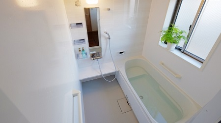 お風呂(浴室)で運気を上げるための家相や風水による色や間取り